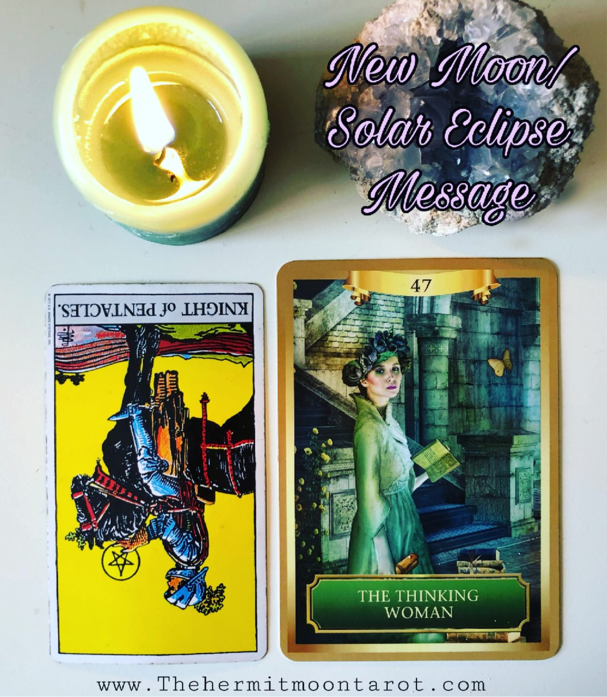 A message for New Moon/Solar Eclipse January 2019