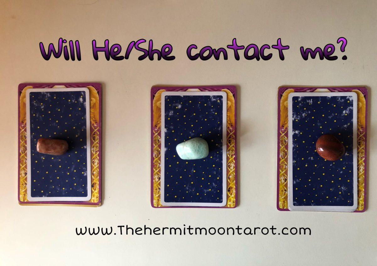 Will He/She Contact Me? Pick a card for your message
