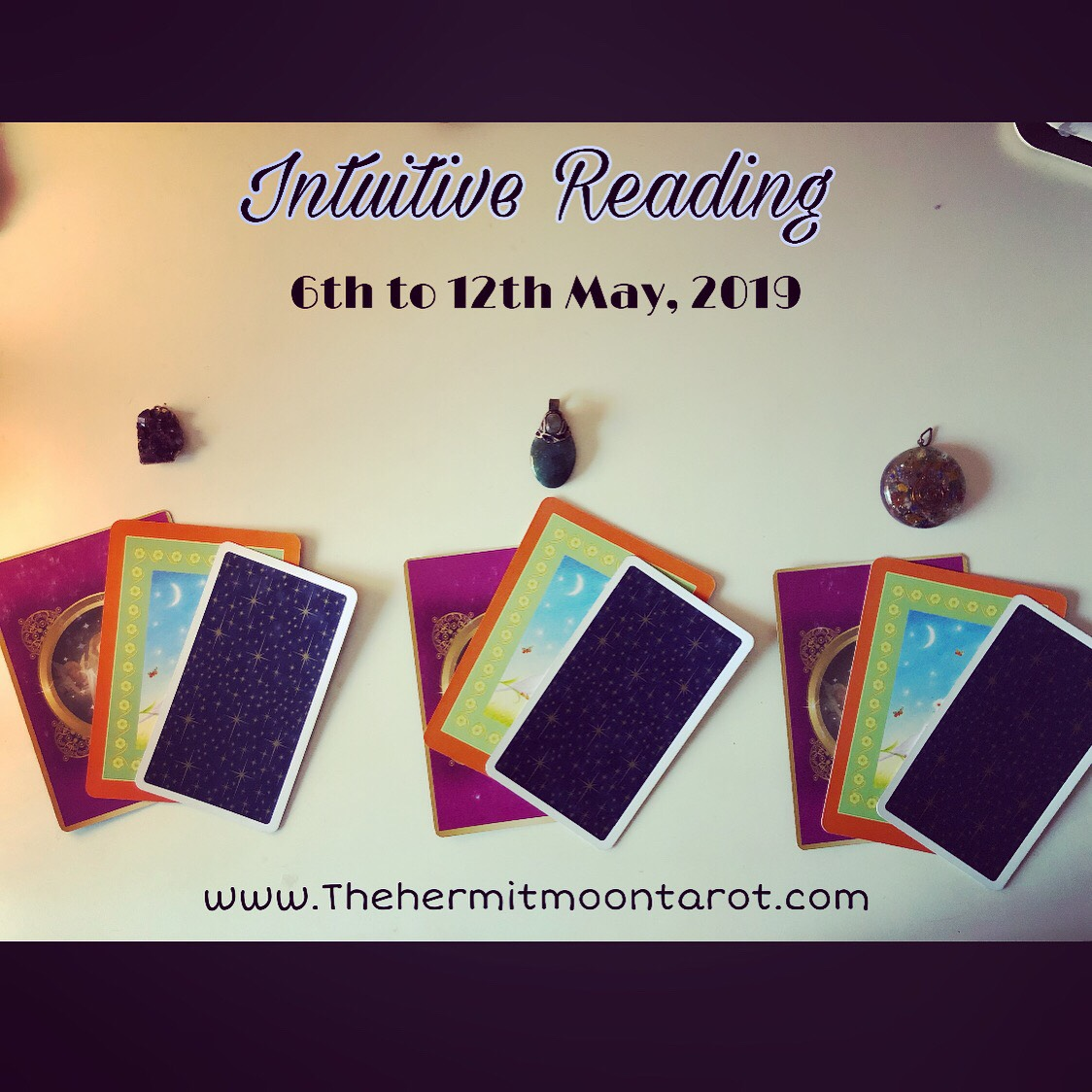 Intuitive Reading for the week of 6th to 12th May, 2019